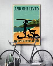 Surfing And She lived Happily Ever After 11x17 Poster lifestyle-poster-7