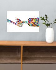 Dentist Watercolor Toothpaste 17x11 Poster poster-landscape-17x11-lifestyle-24