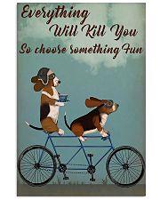 Cycling Choose Fun 11x17 Poster front