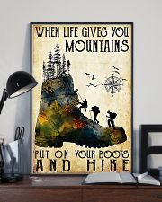 Hiking Put On Your Boots And Hike  11x17 Poster lifestyle-poster-2