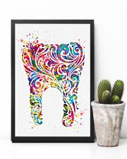 Dentist Floral 11x17 Poster lifestyle-poster-8