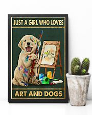 Painting Girl And Dogs 11x17 Poster lifestyle-poster-8