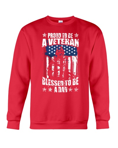 PROUD TO BE A VETERAN DAD