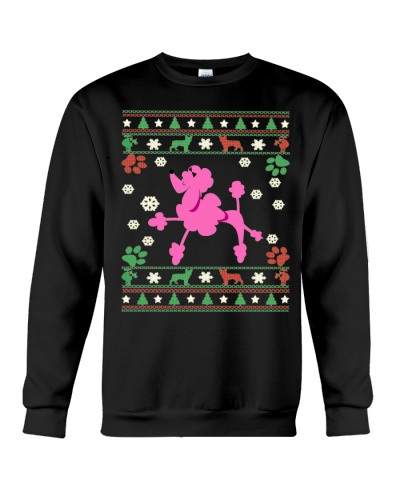 POODLE UGLY CHRISTMAS SWEATER SHIRT