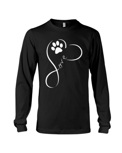 LOVE DOG TATTOO DESIGN SHIRT