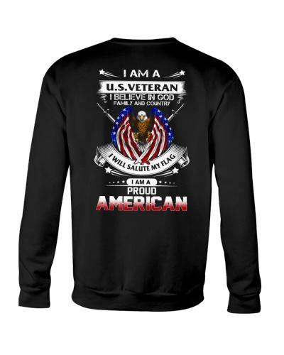 PROUD AMERICAN VETERAN