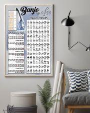 Banjo Chords 11x17 Poster lifestyle-poster-1