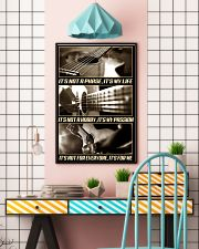 Guitar 11x17 Poster lifestyle-poster-6