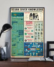 SCUBA DIVER 11x17 Poster lifestyle-poster-2