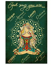 Yoga 11x17 Poster front