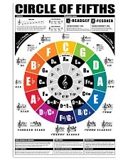 CIRCLE OF FIFTHS 11x17 Poster front