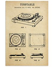 TURNTABLE 11x17 Poster front
