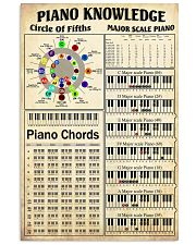 PIANO KNOWLEDGE 24x36 Poster front