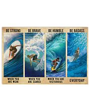 SURFING 17x11 Poster front