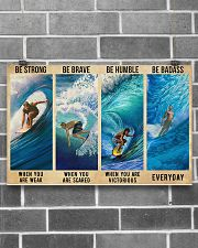 SURFING 17x11 Poster poster-landscape-17x11-lifestyle-18