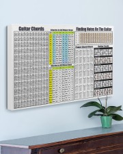 GUITAR CHORDS 30x20 Gallery Wrapped Canvas Prints aos-canvas-pgw-30x20-lifestyle-front-01