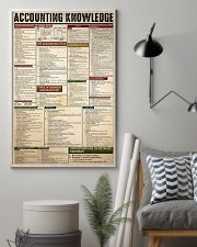 ACCOUNTING KNOWLEDGE 11x17 Poster lifestyle-poster-1