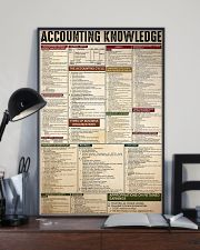 ACCOUNTING KNOWLEDGE 11x17 Poster lifestyle-poster-2