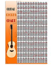 Guitar Chords Chart 11x17 Poster front