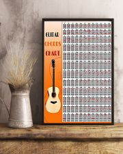 Guitar Chords Chart 11x17 Poster lifestyle-poster-3