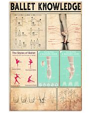 BALLET 24x36 Poster front
