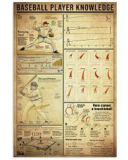 Baseball 11x17 Poster front