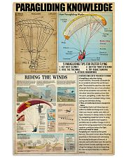 PARAGLIDING 11x17 Poster front