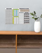 GUITAR CHORDS 17x11 Poster poster-landscape-17x11-lifestyle-24