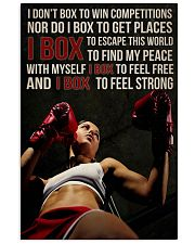 BOXING 24x36 Poster front