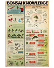 Bonsai 11x17 Poster front