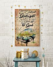 PIANO 24x36 Poster lifestyle-holiday-poster-3