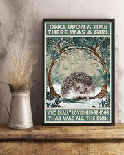 HEDGEHOG 11x17 Poster lifestyle-poster-3