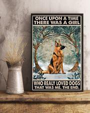 German Shepherd 11x17 Poster lifestyle-poster-3