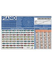 PIANO 17x11 Poster front
