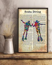 SCUCA DIVING 11x17 Poster lifestyle-poster-3