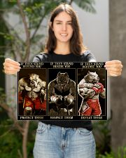 BOXING 17x11 Poster poster-landscape-17x11-lifestyle-19
