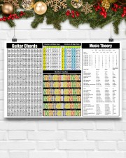 GUITAR CHORDS 17x11 Poster aos-poster-landscape-17x11-lifestyle-28