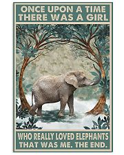 ELEPHANT 11x17 Poster front