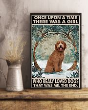 LABRADOODLE 11x17 Poster lifestyle-poster-3