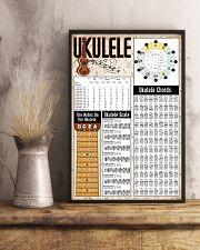 UKULELE Chart 24x36 Poster lifestyle-poster-3