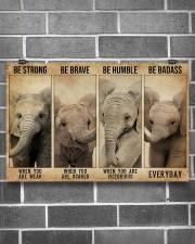 ELEPHANT 17x11 Poster aos-poster-landscape-17x11-lifestyle-18