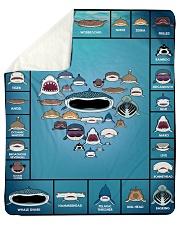 "SHARK Sherpa Fleece Blanket - 50"" x 60"" thumbnail"
