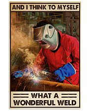 WELDER 11x17 Poster front