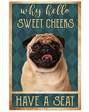 PUG DOG 11x17 Poster front