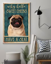 PUG DOG 11x17 Poster lifestyle-poster-1