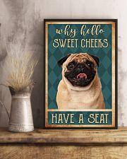 PUG DOG 11x17 Poster lifestyle-poster-3