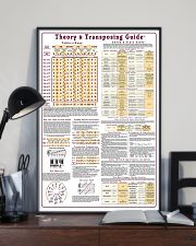 MUSIC THEORY CHEAT POSTER 11x17 Poster lifestyle-poster-2