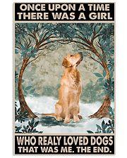 Golden Retriever 11x17 Poster front