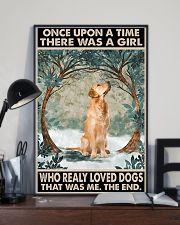 Golden Retriever 11x17 Poster lifestyle-poster-2
