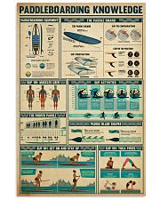 PADDLEBOARDING 24x36 Poster front